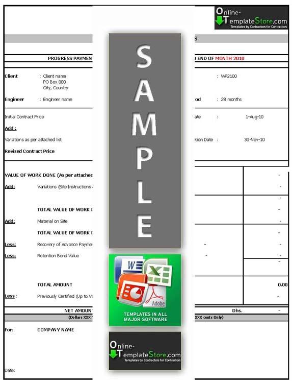 contruction templates   construction document templates, Invoice templates